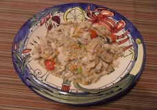 Leftover Recipe: Couscous and Chicken