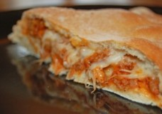 What to do with Extra Pasta Sauce; Make Calzones