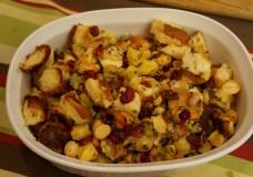 Thanksgiving Stuffing Recipe, California Style