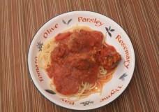 My Take on Spaghetti and Meatballs